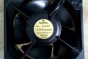 Mặt trước Quạt Ikura Fan 6250MG1, 160x160x55mm, 220VAC