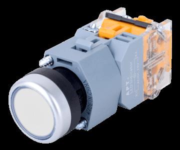 LA39-B-illuminated-flat-pushbutton-w